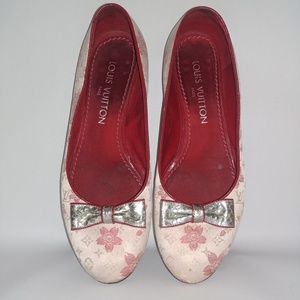 Louis Vuitton Murakami Cherry Blossom Flats
